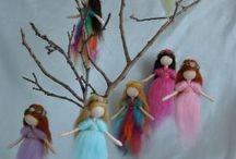 Tündérek / wool fairy