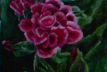 kocham malować kwiaty