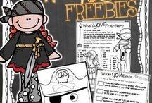 Freebies for K / Fun and engaging Kindergarten freebie activities