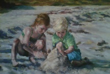 Beach and Ocean Paintings / Beach Themed Paintings