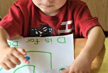 Preschool Learning Ideas / Ideas to introduce the alphabet to kids in a fun way :-)