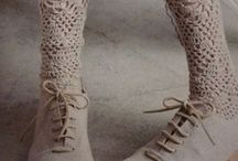 kötött zokni