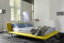 Beds by Ligne Roset / Selection from current choice of beds to order at Ligne Roset City