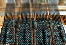 Saori weaving techniques