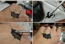halloween makeup scary