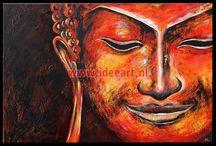 Schilderijen Boeddha / Schilderijen boeddha te koop. Bekijk onze prachtige Buddha schilderijen online. Mooi, Uniek, Handgeschilderd - gratis thuisbezorgd.Kopen bij onze online galerie.