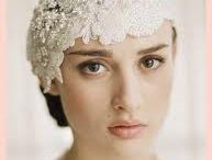 That Veil & Headpiece!! / by Vintage Wedding Love