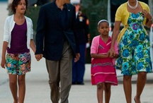 OBAMA FAMILY / by Kathy Ruiz