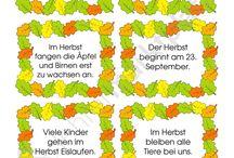 Herbst Unterrichtsmaterialien / Unterrichtsmaterialien zum Thema Herbst