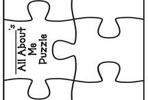 Šablony, puzzle