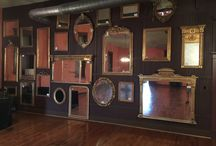 Mirror Mirror on the Wall / Mirrors, Looking Glasses, and other items of vanity!