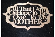 Mother's Day - Laser Cut Gifts & DIY