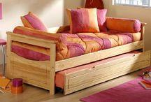 Lit Gigogne abc meubles / Lit gigogne abc meubles pour adulte et pour enfant, plusieurs finitions et dimensions possibles, par Abc Meubles