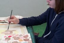 Monday Year 10 GCSE Support / this is a support group for year 10s doing GCSE art