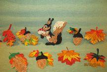 quilling podzim