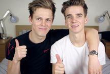 Joe and Caspar