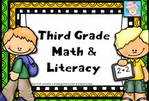 Third Grade Math and Literacy / This board is filled with great ideas, freebies, and time-saving ideas for third grade. If you pin to this board, please pin 1 freebie or great idea for each paid item. Freebies are always welcome!