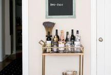 Bar Carts and Trays