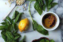 Pesto and sauces