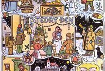 LADA  český malíř / Lada -  (17. prosince 1887 Hrusice – 14. prosince 1957 Praha) byl významný český malíř, ilustrátor, scénograf a spisovatel.