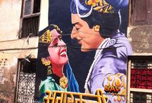 Street art of INDIA / An eclectic collection of hand-painted advertisement and graphic art from the streets of India