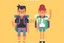 Tourist Characters - Mature