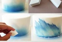 рисование на тортах