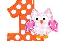 Embroidery Designs - Birthday, Celebrations, Fantasy, Play