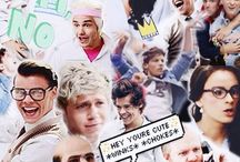 One Direction Collage <3