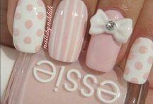 Moñitos nails