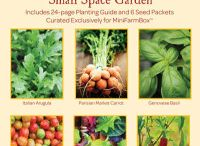 MiniFarmBox Organic Seed Collection / Organic Heirloom Seed Collections by Jardin Seeds exclusively fro MinifarmBox