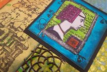 My Creative Meanderings / Art Journal Mixed Media and more