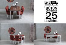 Masa & Sandalye / Üretici olduğumuz ürünlerde müşterinin istediği renk ve boyutta yapabiliyoruz #masa #sandalye