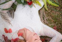 Autumn Wedding / Vintage weddingdress   mmv Marvellous & 't Bloemenschuurtje