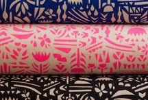Fabric Inspiration / Beautiful, colourful fabric we love and want to sew with