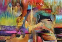 mujeres pintura