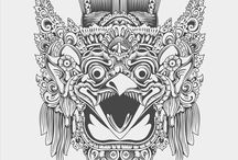 Bali Chest Piece & Thoughts / ideas for the above