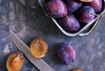 ❁ Plums ❁ / Sarah has a fabulous plum tree that is full of yummy plums each year, so this full of yummy inspiration for what to make with them.