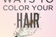 All hair  / by Amy Bair