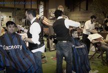 "BARBERIAS CON ENCANTO / FERIA DEL AUTOMOVIL MADRID 2014 ESTAN ""ESPIRITU DE MONTJUIC""#barberiasconencanto #barberia  #peluqueria  #hair #barba  #vinaros  #estilo  #moda  #afeitado  #style  #hombre #man  #cortes  #cut   #barbas  #cabello #barbero #castellon"