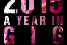 2015 A Year In Gig Photos