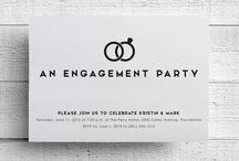 Engagement Party / Engagement party invitations and ideas.