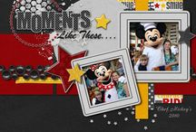 DISNEY SCRAPBOOKING / by Jennifer Ham