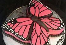 Tartas de mariposa