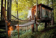 Tree huts around the world / Belles Cabanes dans le monde