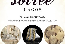 Chic Soiree Lagos / Pin it to win it entry board