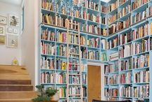 Cozy up with a great book / Cool libraries and unique reading spaces. I want to go there.