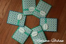 Cards & more - Quick and Easy ideas / Quick and Easy card ideas using Stampin' Up! product!