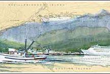 Art of Ketchikan, Ak / A variety of Art depicting Ketchikan, Alaska