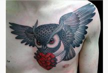 12 Amazing Owl Tattoos Ideas / Owl tattoos have a lot of meaning tied to cultural and religious backgrounds. Not only do the owls portray an individual that can look at the soul of another, that is, someone who can see the see what another person is thinking, but such a tattoo also represents a person who fears nothing, and soars above all the odds of life. But that is just part of the meaning an owl represents in many societies.